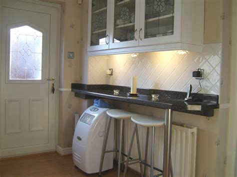 large kitchen breakfast bar