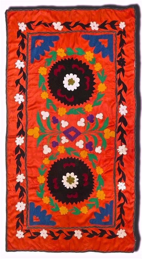 uzbek suzane antique uzbek suzani pinterest google uzbek vintage suzani handmade embroidery embroidery