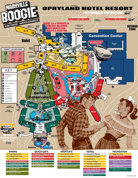 layout of opryland hotel opryland convention center booth map pictures to pin on