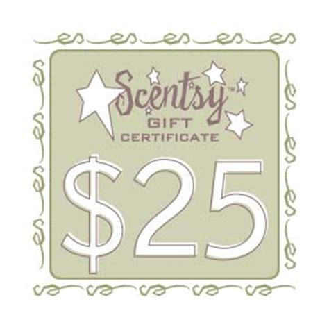 scentsy gift certificate template scentsy candles buy scentsy wickless candle warmers