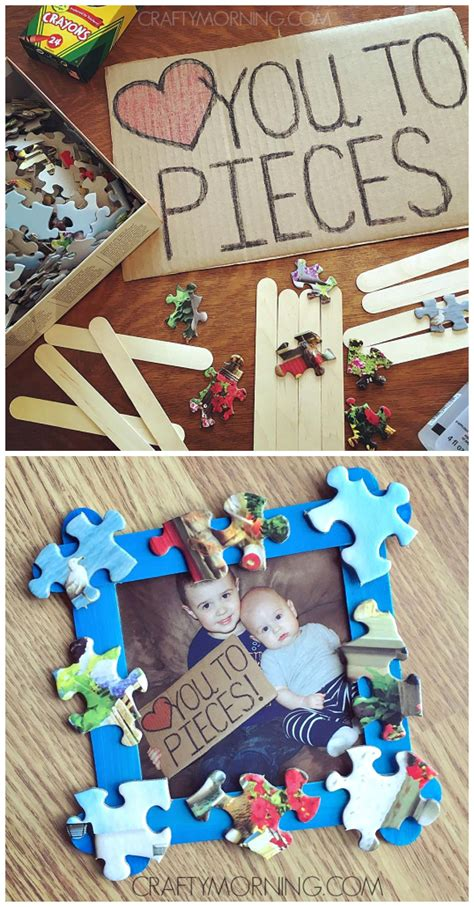 craft for s day gift you to pieces s day craft gift idea from the