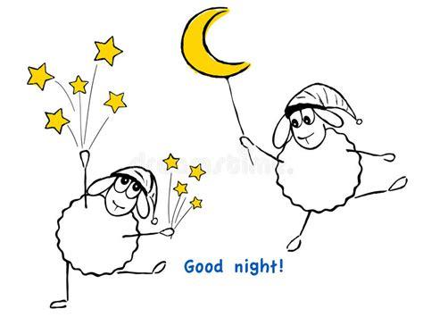 clipart divertenti pecore stelle e divertenti buona notte