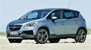 Opel Zafira Suv Opel Zafira Et Meriva Des Suv En 2016