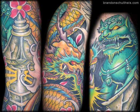 japanese tattoo upper arm paradise tattoo gathering tattoos traditional japanese