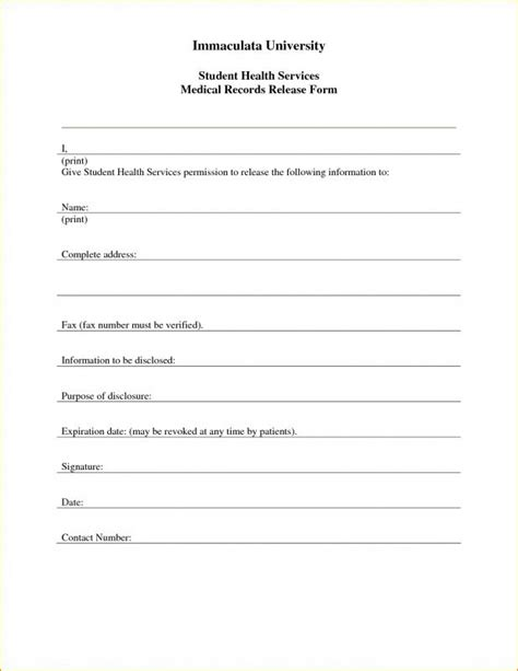 child information form template free printable child consent form template business