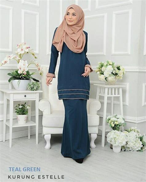 Baju Kurung Moden Untuk Wanita Gemuk 17 fesyen baju kurung terkini design cantik untuk wanita moden