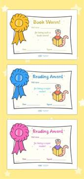 reading certificate templates free printable editable reading award certificates
