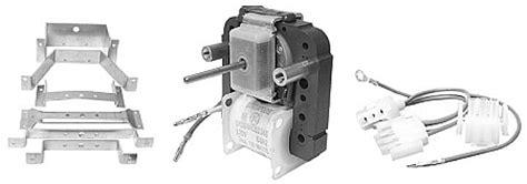 sub zero 532 condenser fan motor sub zero 4200160 evaporator fan motor kit freezer
