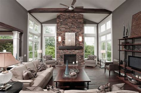 adorn home decor elegant cultured stone fireplace design ideas