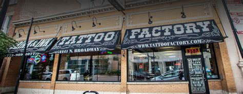 the tattoo factory factory the best in tattos and piercings