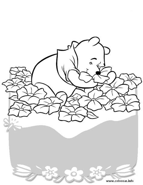 imagenes de winnie pooh con flores pooh con flores winnie the pooh dibujos e imagenes para
