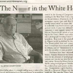 nigger in the white house the nigger in the white house