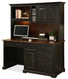 Single Pedestal Computer Desk With Storage Hutch By Desks With Hutches Storage