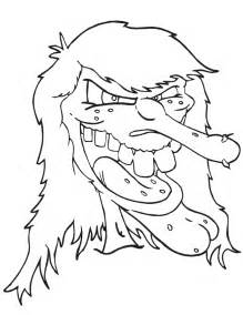scary coloring pages scary coloring pages az coloring pages