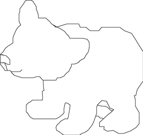 Panda Outline Drawing by Wire Sculpture Eb Ebower92