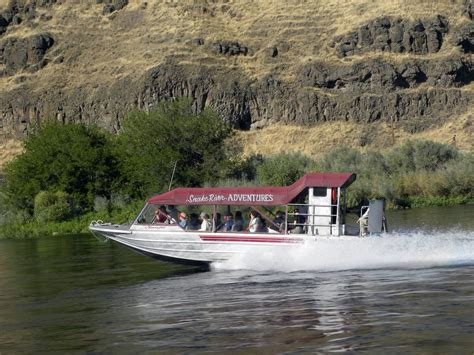 jet boat on snake river jet boat ride in hells canyon of the snake river