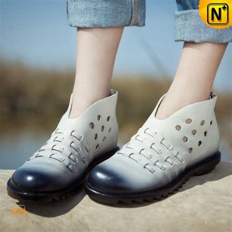 soft breezy slip on leather flat shoes cw305018