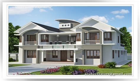 6 bedroom luxury house plans 6 bedroom luxury villa design 5091 sq ft plan 149 acube builders developers