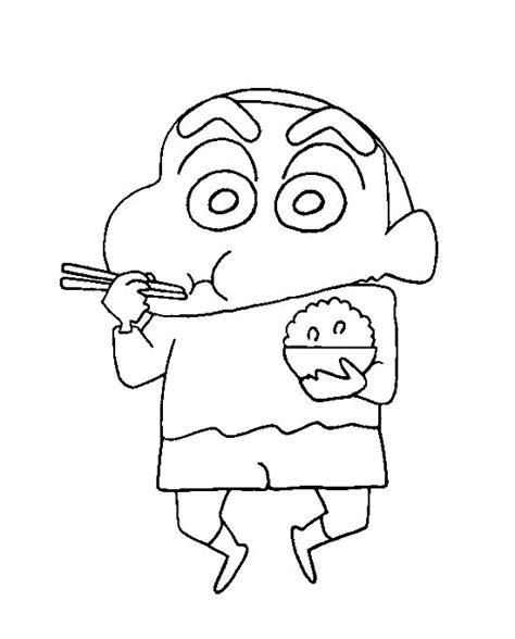 maestra de infantil shin chan dibujos para colorear