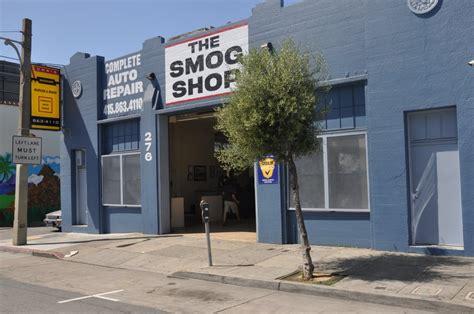 smog shop auto repair soma san francisco ca