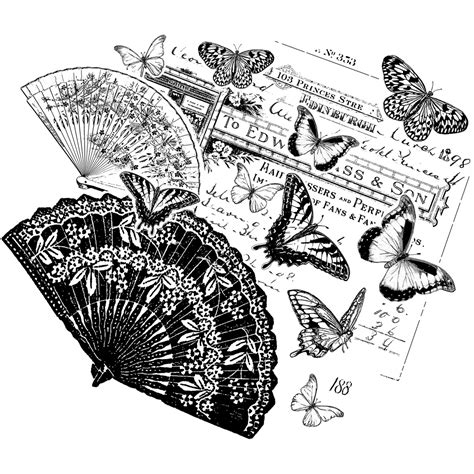 crafty individuals rubber sts crafty individuals unmounted rubber st fans
