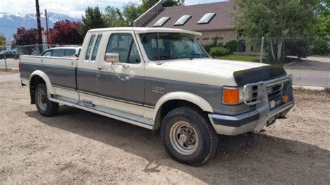 car owners manuals for sale 1989 ford ranger electronic valve timing 1989 89 ford f250 f 250 idi 4x4 one owner clean low miles 75k 5 speed manual for sale photos