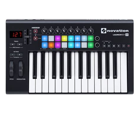 M Audio Mid Air25 25key Usb Midi Wiireless Controller novation launchkey 25 mkii usb midi controller keyboard