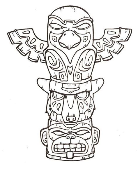 totem pole template totem pole craft template search totems and