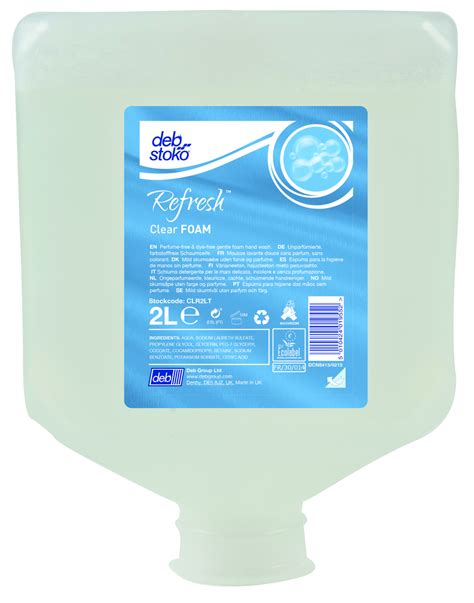 Clear 2000 Detox by Deb Stoko Cleanse Washroom Dispenser 2000 Ml Dispensere