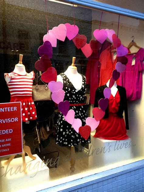valentines day store 165 best s window displays images on