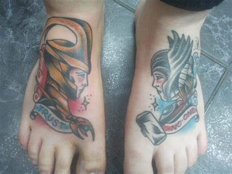 the gallery for gt thor and loki tattoo