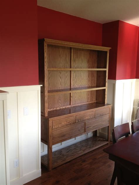 Diy Dining Room Hutch Plans Dresser Hutch Plan Dining Room Tutorials