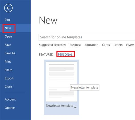 easily create  newsletter template  microsoft