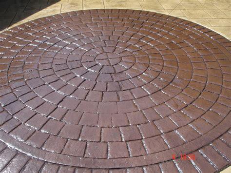 pattern imprinted concrete ideas pattern imprinted concrete bespoke designs