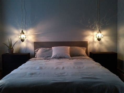 hanging lanterns in bedroom turning moroccan lanterns into hanging bedside ls