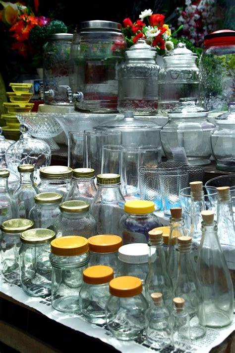 glassware sold at a store in dapitan arcade in manila