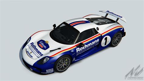 porsche 918 racing porsche 918 rothmans racing racedepartment