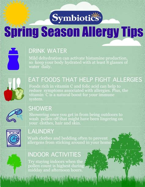 Spring Tips | spring season allergy tips