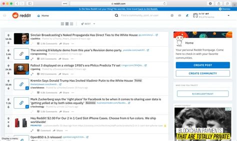 bitcoin news reddit reddit rolling out site redesign