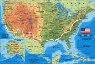 Usa Road Trip Map by America Map Map Pictures
