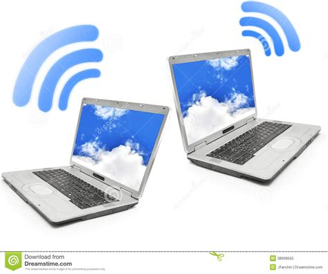 Wifi Notebook wifi technology stock photo image 38908555