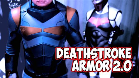 deathstroke armor template deathstroke 2 0 justice league armor