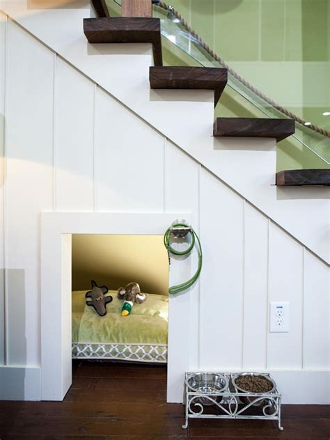 Can I Get A Window Seat - 25 great ideas of dog house under staircase tail and fur