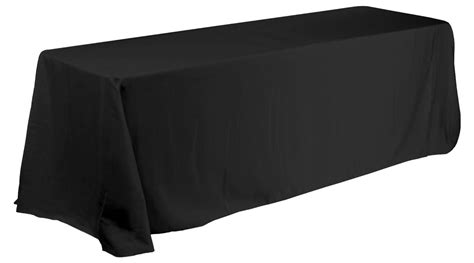 linen tablecloth for 8 ft rectangular table black