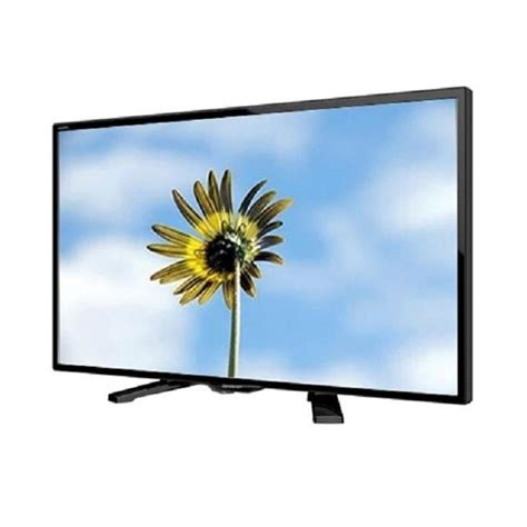 sharp aquos led tv 24 inch hitam model lc 24le170i elevenia