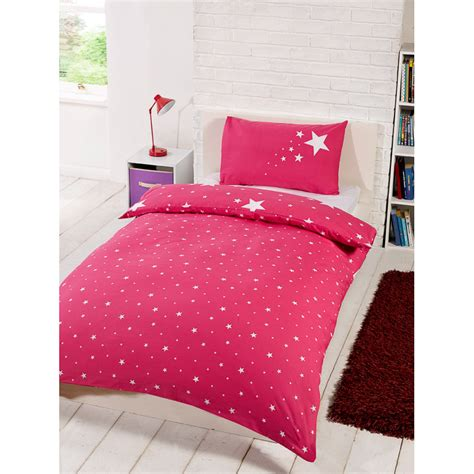 Pink Quilt Set by Glow In The Single Duvet Set Pink Bedding Duvet Sets