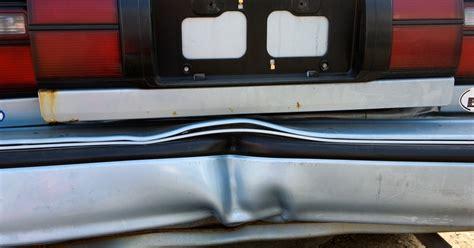 pull   dented bumper ehow uk