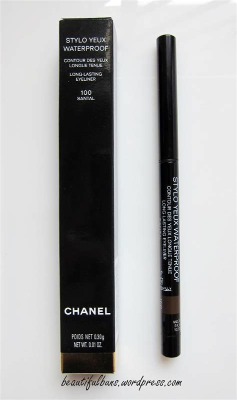 Chanel Stylo Yeux Waterproof Eyeliner Review Chanel Stylo Yeux Waterproof Lasting Eyeliner