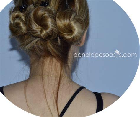 mahogany side bun hair triple bun twist hair tutorial beauty 187 penelopes oasis