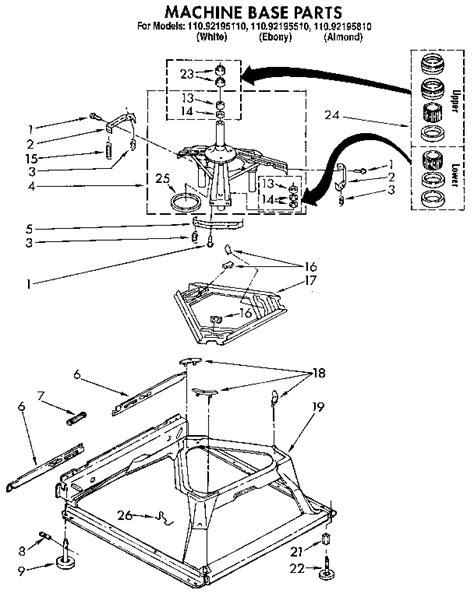 kenmore 70 series washer parts diagram kenmore model 110 diagram 25 wiring diagram images
